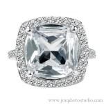 Precious Stone Diamond Rings