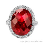 ruby ring jewellery photographer Guangzhou