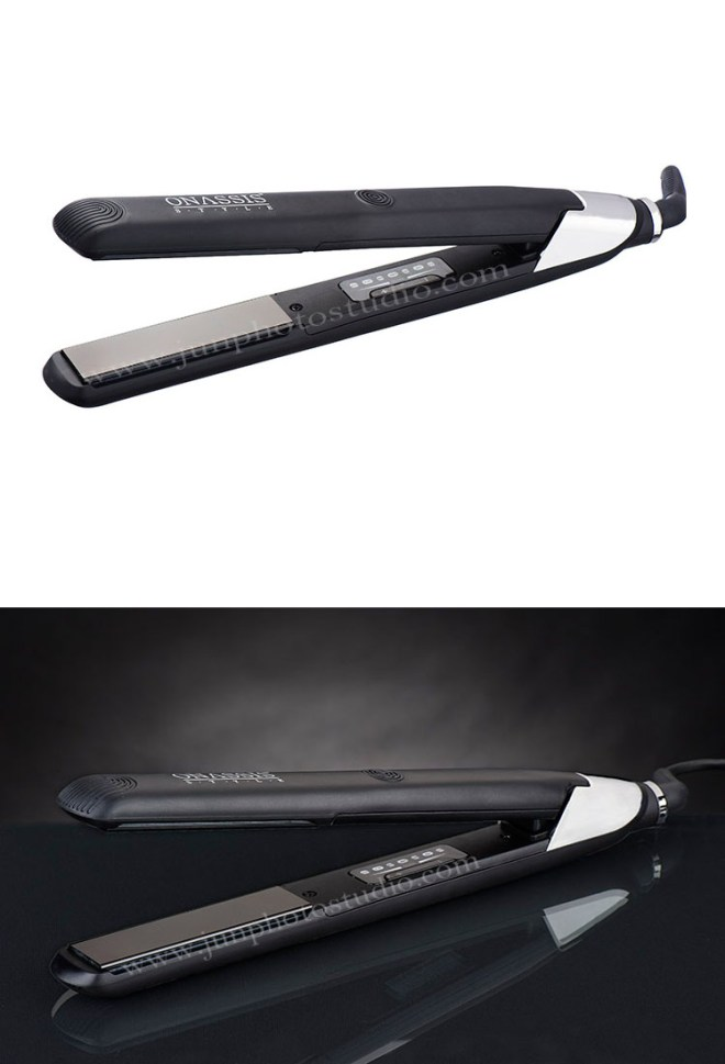 Guangzhou hair straightener product image black and white background
