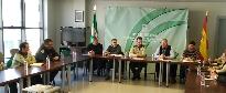 Reunión con los responsables de la Estrategia Andaluza contra el veneno