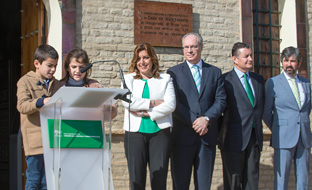 Un momento de la celebración del décimo aniversario de la reforma del Estatuto de Autonomía.