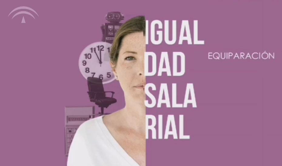 Campaña de la Junta por la igualdad salarial.