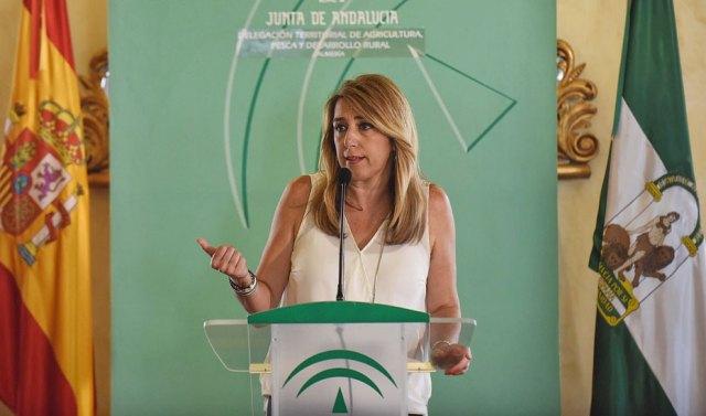 Intervención de Susana Díaz en la entrega de resoluciones para la modernización del sector agrario