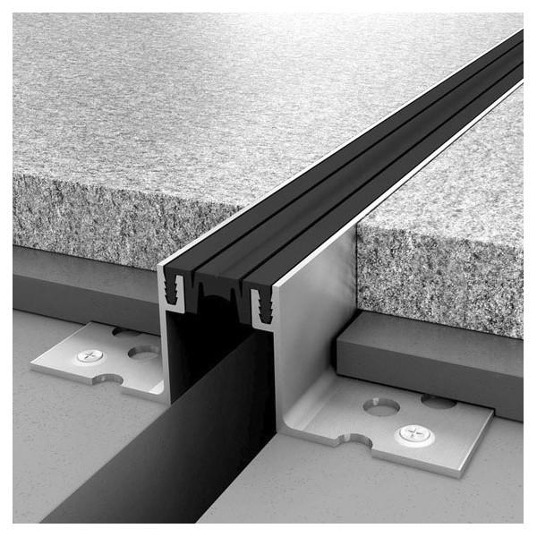 Junta de dilatacin estructural de aluminio de 20 30 y 40 mm