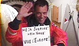 Christer Fuglesang. El primer astronauta escandinau - ScanPix/AP