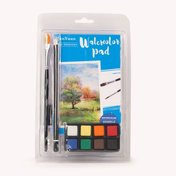 23pc Clamshell Watercolor Art Set