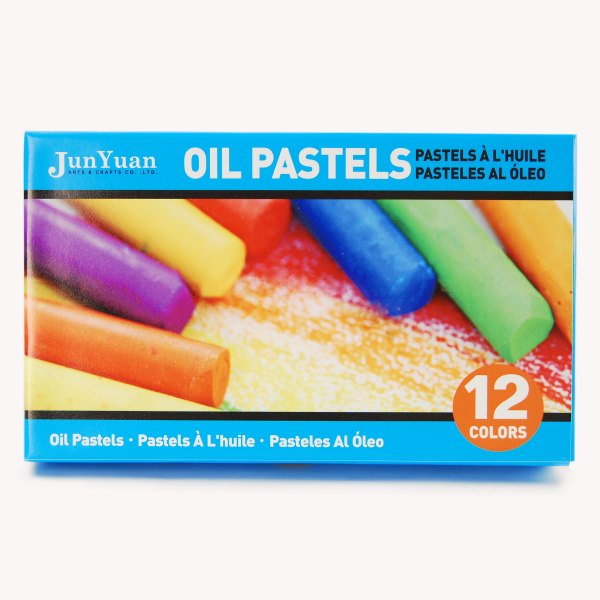 12pc Boxed Oil Pastels