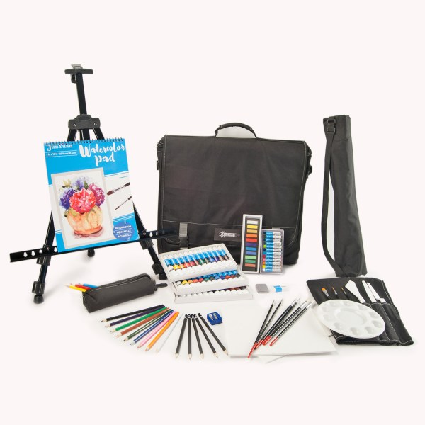 101pc Polyester Portfolio Mixed Media Art Set Bag