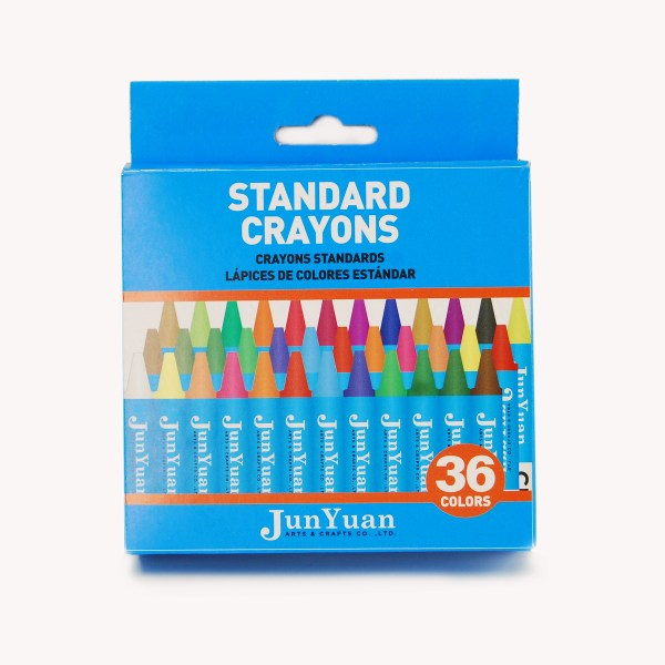 36pc Kids Standard Crayon Set