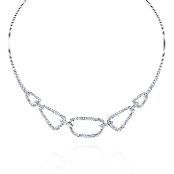 23078-Gabriel-14k-White-Gold-Geometric-Silhouette-Diamond-2.03ctw-Choker-Necklace_NK5869W45JJ