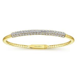 24630 -Gabriel-14K-Yellow-Gold-Fashion-Bangle_BG3894-65Y45JJ-1