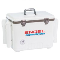 Engel 30qt Cooler/DryBox w/ Rod Holders