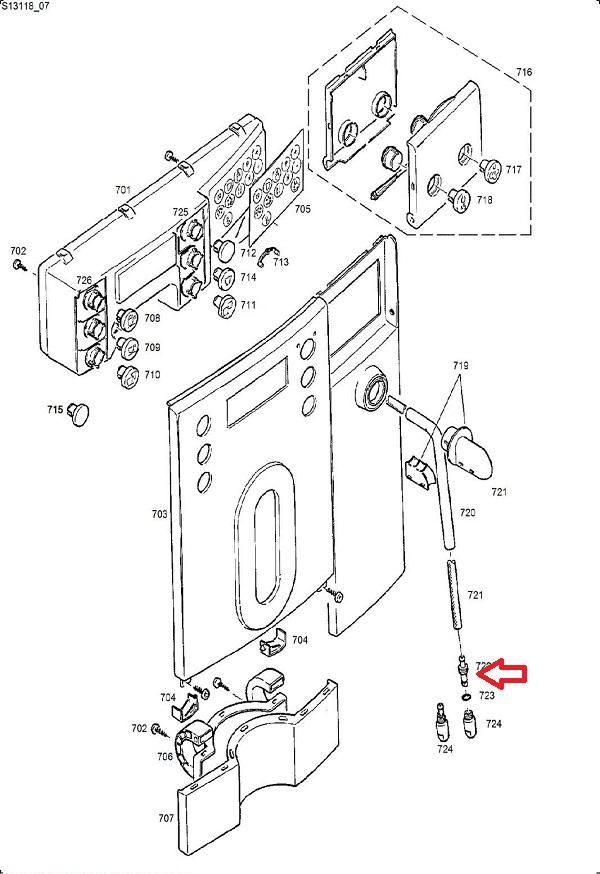 Jura Impressa X7-X9 Steam Pipe Nipple