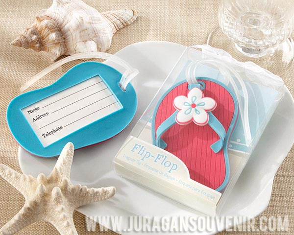 Flip Flop Tag Name Luggage