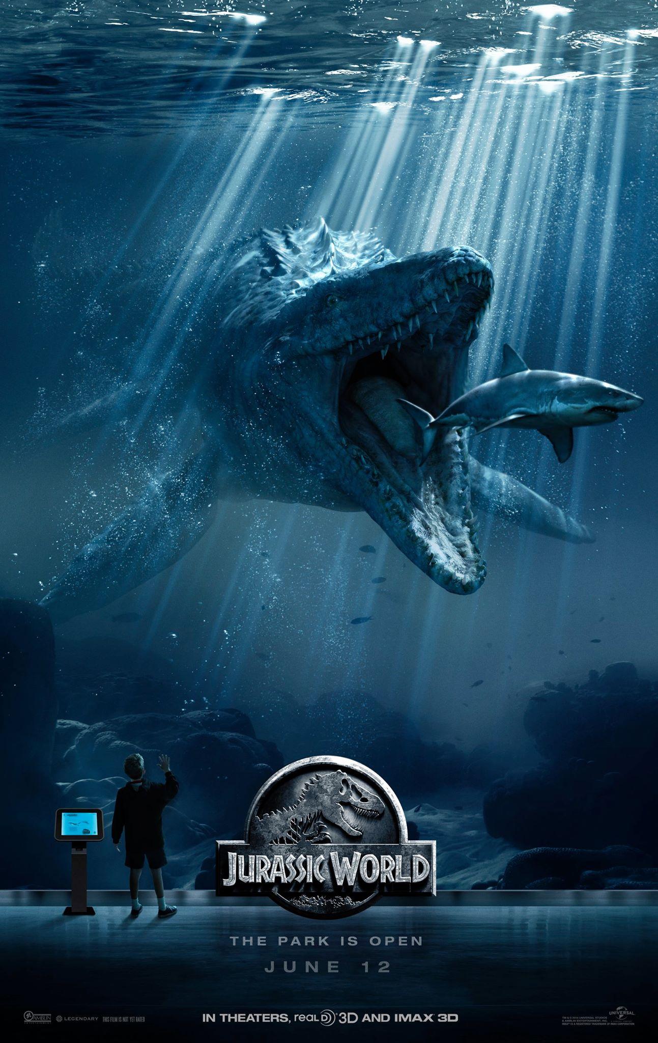 Hasil gambar untuk jurassic world poster