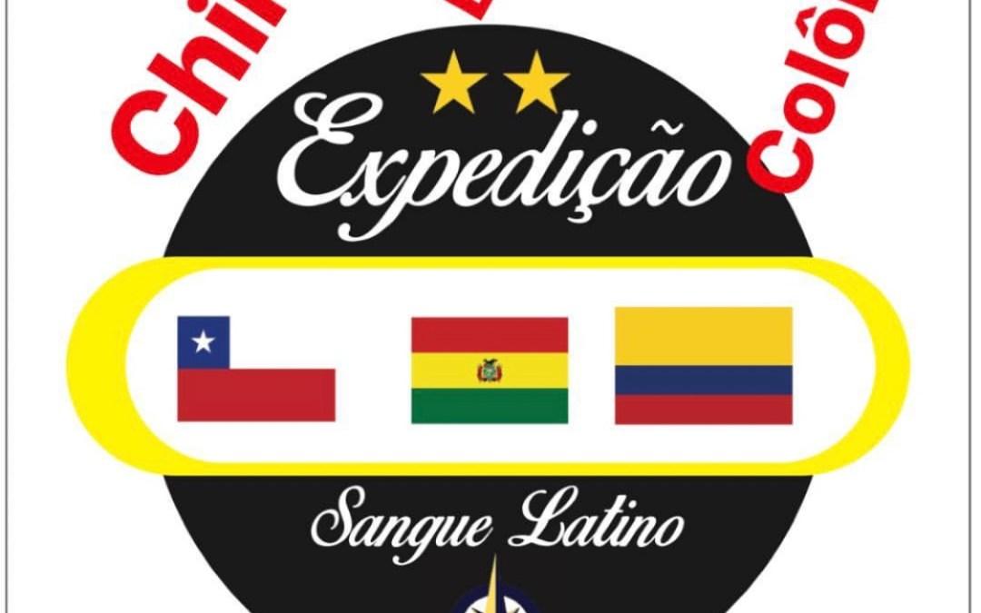 Expedição Sangue Latino : Roteiro e preparativos para Chile, Bolívia e Colômbia