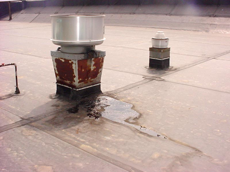 Roof Grease Containment