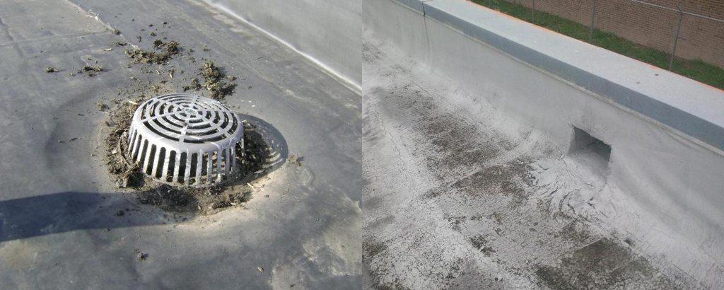 Roof Drain vs Roof Scupper