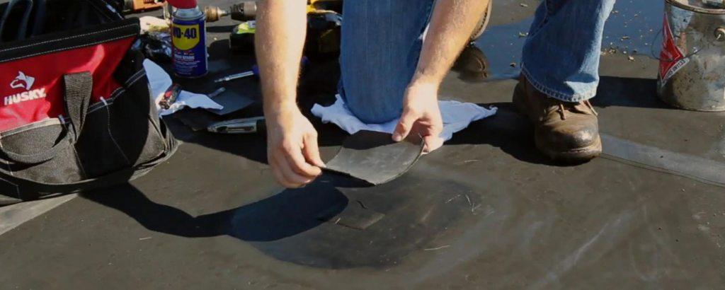 DIY Rubber Roof Repair
