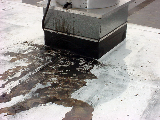 Rooftop Grease Safety Issue