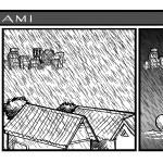 siang malam hujan banjir