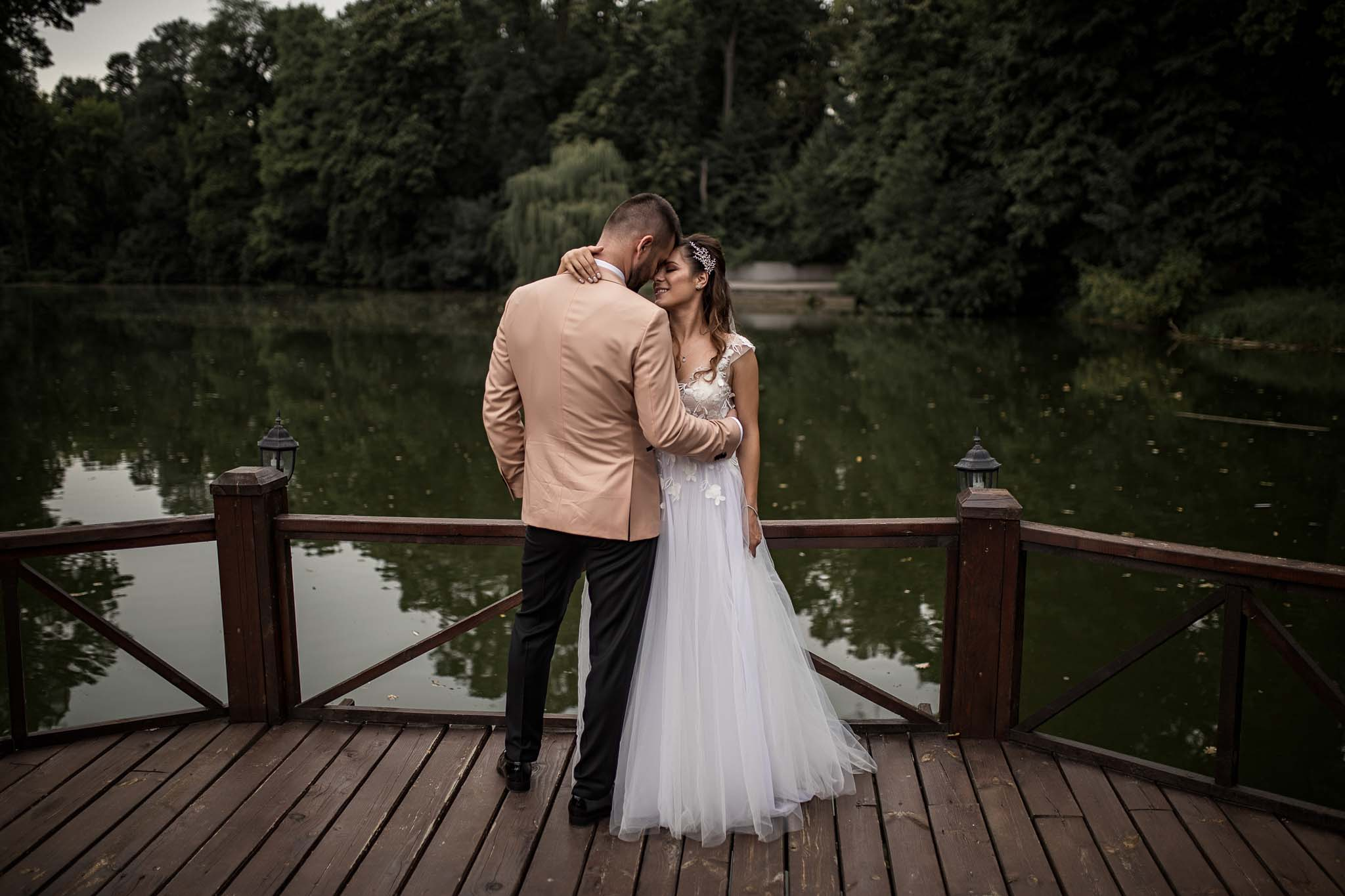 wedding at Stirbey with Elena and Corneliu