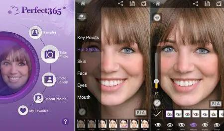 Aplikasi edit foto make up untuk Android dan iOS terpopuler perfect365