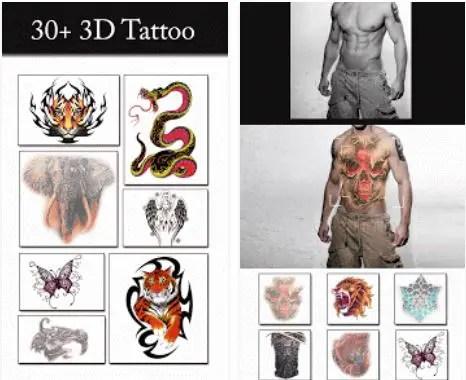 Aplikasi edit foto tato tatto 3d tattoo