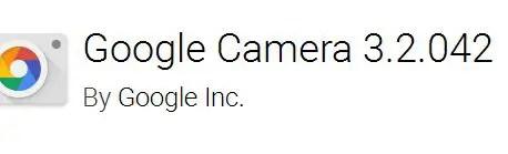 Aplikasi kamera terbaik Google Camera