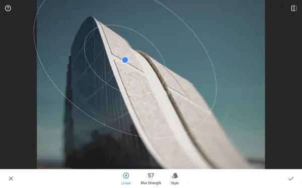 aplikasi edit foto blur snapseed