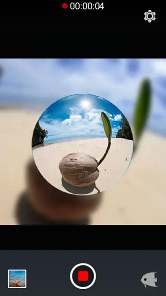 aplikasi kamera mirip seperti GoPro Untuk Android FisheyeVideo Free
