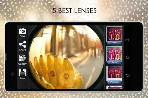 aplikasi kamera mirip seperti GoPro Untuk Android InstaFishEye for Instagram