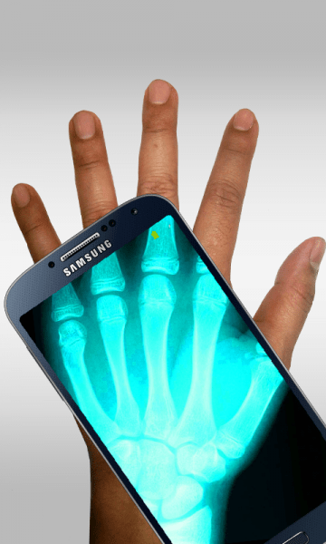 aplikasi kamera tembus pandang Xray Scan