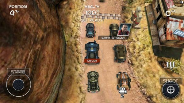 Game android offline terbaik Death Rally