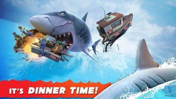 Game android offline terbaik Hungry Shark Evolution