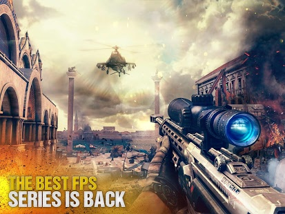 Game HD Android Modern Combat 5 Blackout