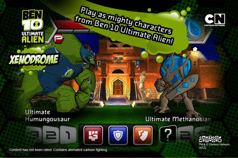 Game RPG 3D Offline Ben 10 Xenodrome