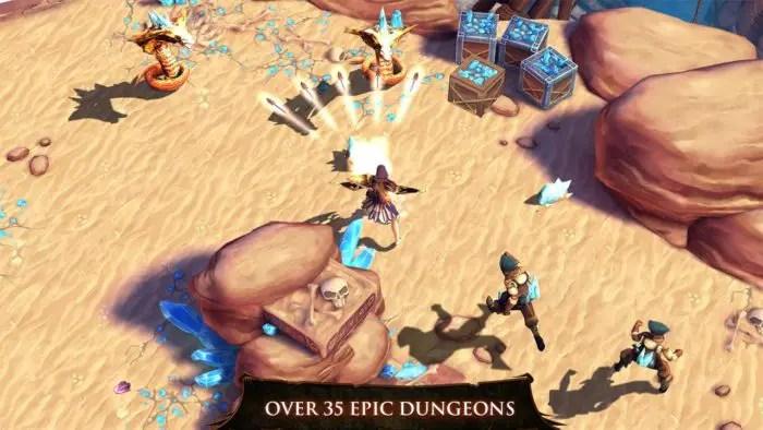 Game RPG 3D Offline Dungeon Hunter 4