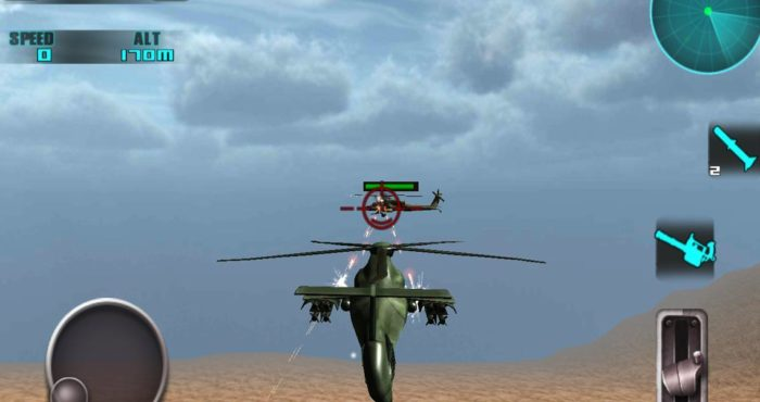 Game perang helikopter android Heli battle 3D flight game