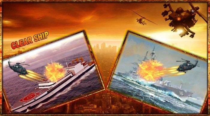 Game perang helikopter android Helicopter Commando War Zone