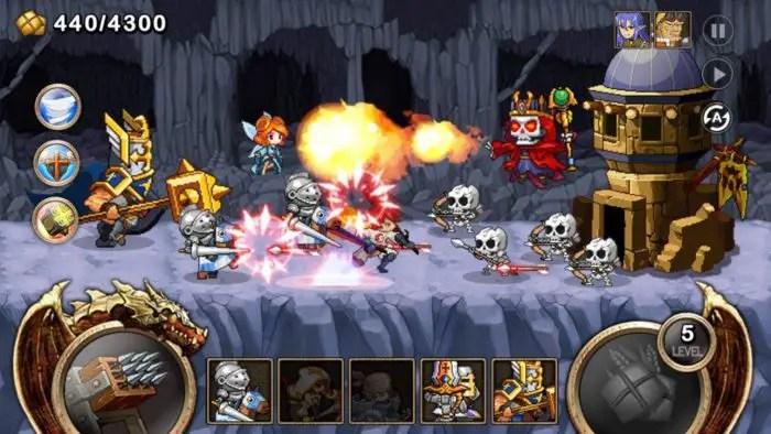 Game perang kerajaan android Kingdom Wars