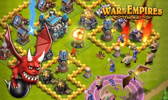 Game perang kerajaan android War of Empires - The Mist
