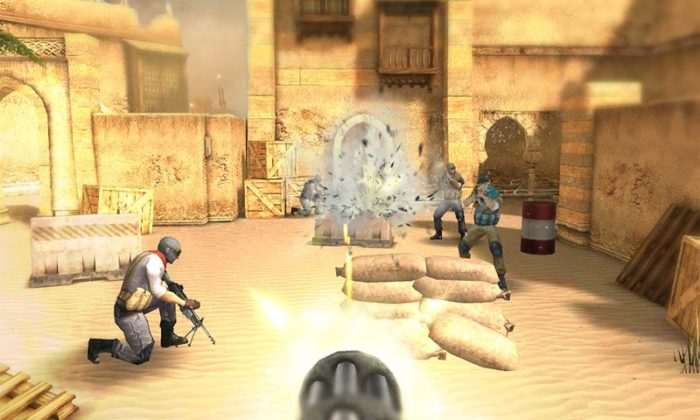 Game perang offline android Killer SWAT