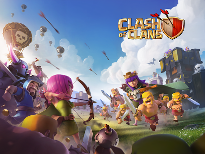 Game strategi android terbaik Clash of Clans