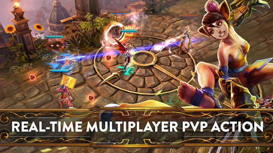 Game strategi android terbaik Vainglory