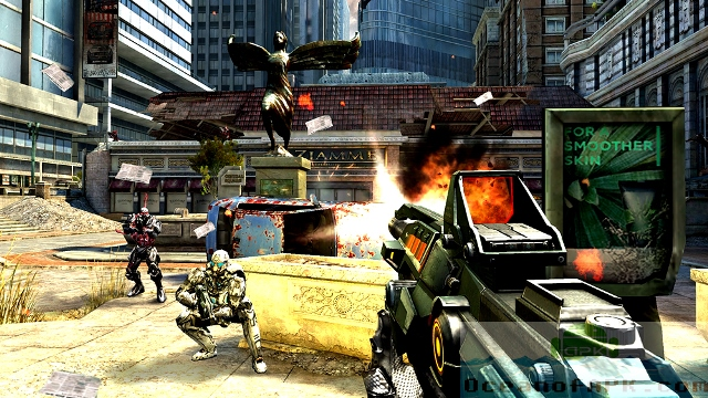 Game tembak-tembakan android terbaik NOVA 3 – Near Orbit