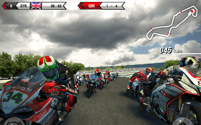 game balap motor android terbaik SBK15 Official Mobile Game