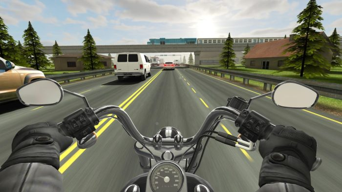 game balap motor android terbaik Traffic Rider