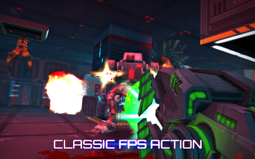 game fps android terbaik offline Neon Shadow