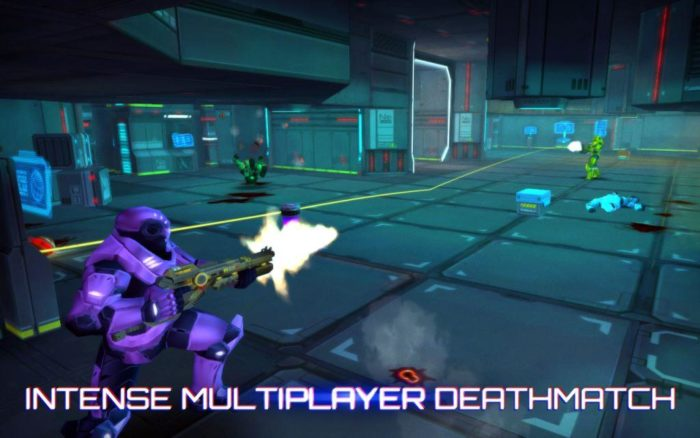 game perang android multiplayer Neon Shadow